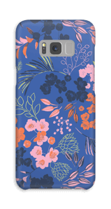 Fleurs & bleu Coque  Galaxy S8 Plus