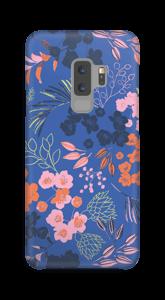 Blaue Blumenwiese Handyhülle Galaxy S9 Plus