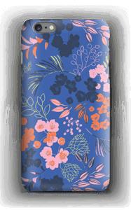 Fleurs & bleu Coque  IPhone 6s Plus