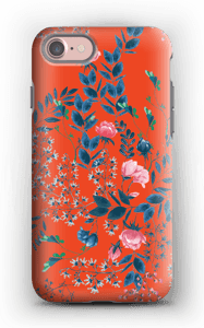 Wild florwers case IPhone 7 tough