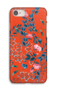 Red flower bouquet case IPhone 8