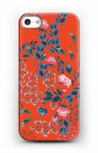 Red flower bouquet case IPhone 5/5S