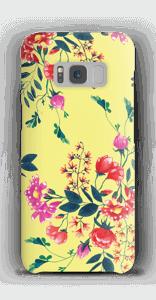 Kukkalehto kuoret Galaxy S8