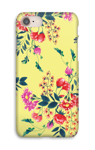 Yellow flower bouquet case IPhone 8