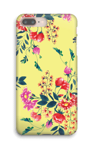 Yellow flower bouquet case IPhone 8 Plus