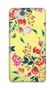 Friday Flowers case Pixel 2