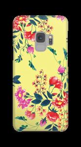 Fleurs & jaune Coque  Galaxy S9