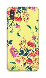 Yellow flower bouquet case IPhone XS Max