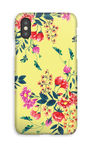 Friday Flowers case IPhone XS