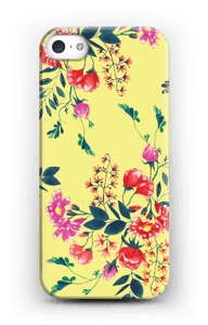 Yellow flower bouquet case IPhone 5/5S