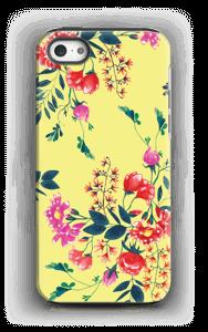 Blommor på gult skal IPhone 5/5s tough