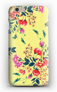 Yellow flower bouquet case IPhone 6