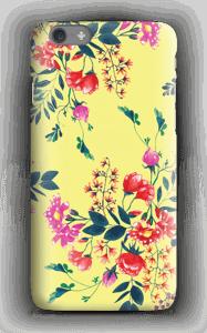Fleurs & jaune Coque  IPhone 6s