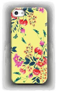 Blommor på gult skal IPhone SE