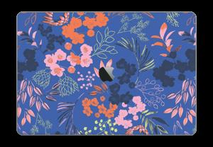 """Fleurs & bleu Skin MacBook Pro 15"""" 2016-"""