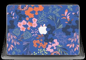 """Fleurs & bleu Skin MacBook Pro Retina 13"""" 2015"""