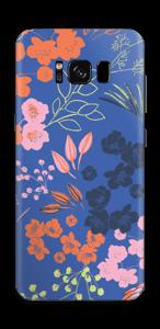 Blaue Blumen Skin Galaxy S8