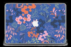 """Fleurs & bleu Skin MacBook Pro 15"""" -2015"""
