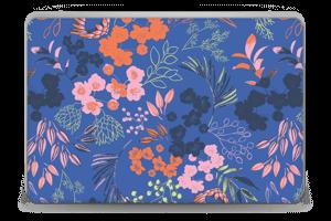 Blommor på blått Skin Laptop 15.6
