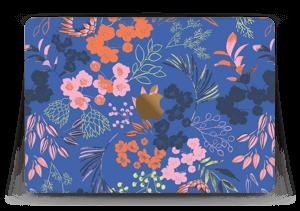 """Fleurs & bleu Skin MacBook 12"""""""