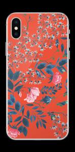Rouge & fleurs Skin IPhone X