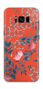 Nicely flower skin Galaxy S8