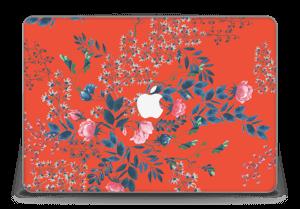 "Rouge & fleurs Skin MacBook Pro Retina 15"" 2015"