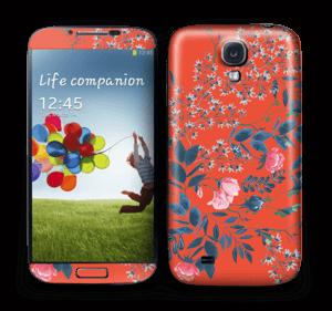 Rouge & fleurs Skin Galaxy S4