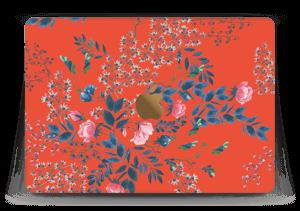 """Rouge & fleurs Skin MacBook 12"""""""