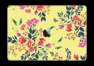 "Jaune & fleurs Skin MacBook Pro 13"" 2016-"
