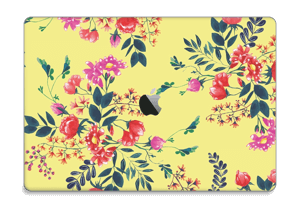 "Jaune & fleurs Skin MacBook Pro 15"" 2016-"