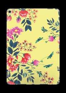 Blommor på gult Skin IPad Pro 10.5