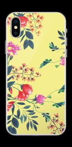 Kukkalehto tarrakuori IPhone XS