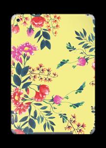 Yellow spring flowers skin IPad 2018