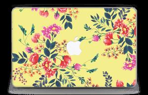 """Jaune & fleurs Skin MacBook Air 11"""""""