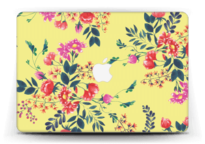 Jaune & fleurs Skin MacBook Air 13""