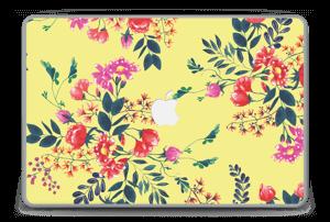 "Jaune & fleurs Skin MacBook Pro 15"" -2015"