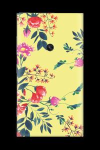 Kukkalehto tarrakuori Nokia Lumia 920