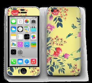 Kukkalehto tarrakuori IPhone 5c