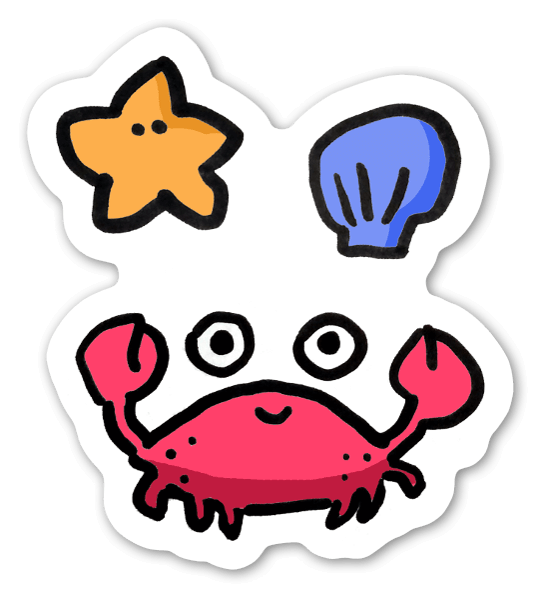 Cute Crab Stickerapp Get the cute crab package from suriyun and speed up your game development process. cute crab stickerapp