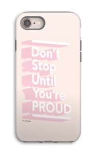Don't Stop kuoret IPhone 8 tough