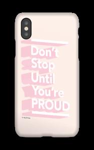 Don´t stop deksel IPhone X