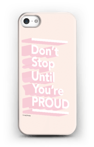 Don't Stop case IPhone SE