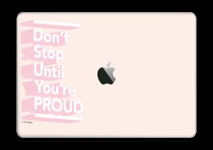 "Don't stop Skin MacBook Pro 13"" 2016-"