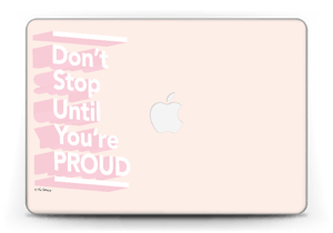 "Don't Stop Skin MacBook Pro Retina 13"" 2015"