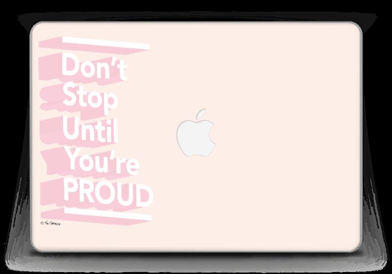 "Don't stop Skin MacBook Pro Retina 13"" 2015"