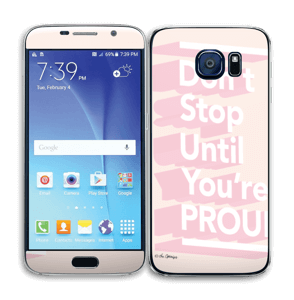 Don't Stop Skin Galaxy S6