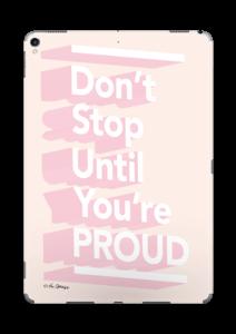 Don't stop Skin IPad Pro 10.5