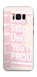 Don't stop Skin Galaxy S8