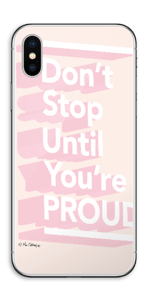 Don't stop Skin IPhone XS